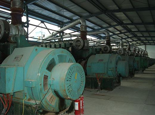 11台高压柴油发电机11000KW租赁